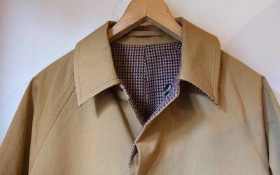 A VONTADE   Reversible Balmacaan Coat