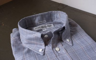 INDIVIDUALIZED SHIRTS   Grey Check Standard Fit Button Down