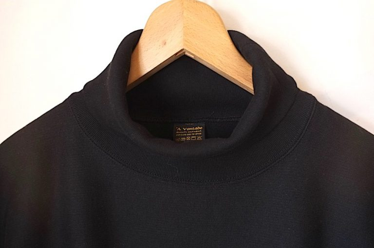 A VONTADE   26/2 BD Turtle Neck Sweat