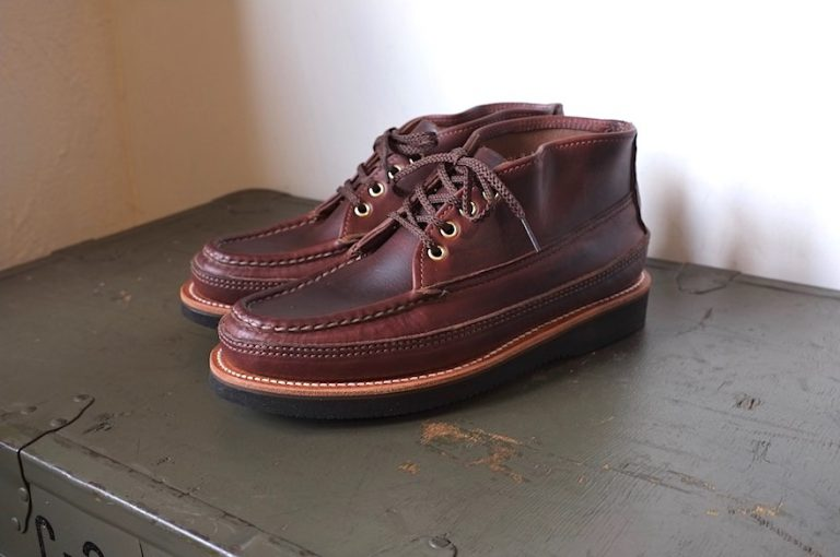 RUSSELL MOCCASIN   4 EYELET SPORTING CLAY'S CHUKKA