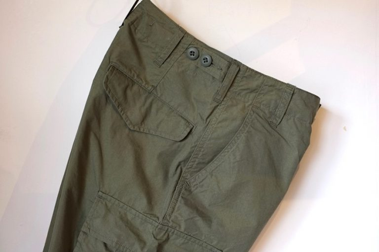 Nigel Cabourn   ARMY CARGO PANT -WEATHER CLOTH-