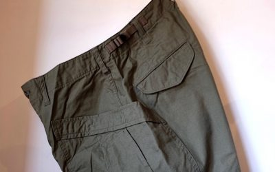 A VONTADE   Fatigue Trousers -Ripstop-