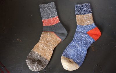 Nigel Cabourn   MULTI COLOR SOCKS