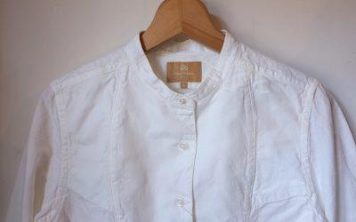 Nigel Cabourn   DRESS SHIRT -Cotton Linen Dungaree-