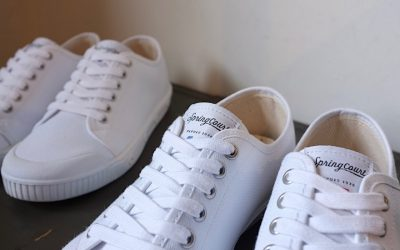 SPRING COURT   G2 COTTON CANVAS SNEAKER