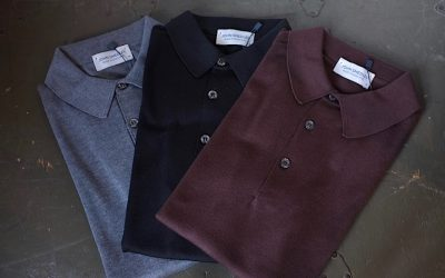 JOHN SMEDLEY   S3798 POLO SHIRT SHORT SLEEVES