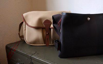 BILLINGHAM   WICKHAM SATCHEL-SMALL & SACOCHE FLAT SHOULDER BAG