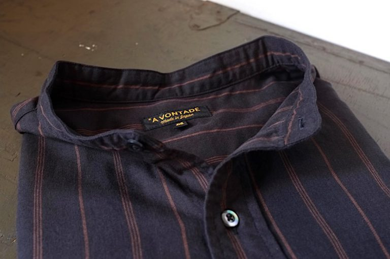 A VONTADE    Banded Collar Shirts