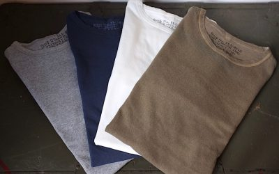 Nigel Cabourn    40's US NAVY LONG SLEEVE T-SHIRT