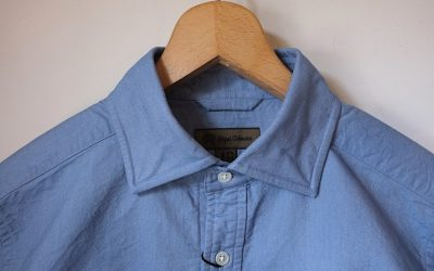 Nigel Cabourn   BRITISH OFFICERS SHIRT – OXFORD
