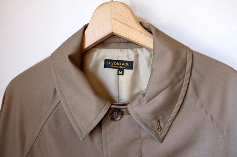A VONTADE   Lax Balmacaan Coat -Short Length-