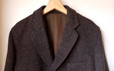 Nigel Cabourn   HOSPITAL JACKET-Donegal Tweed