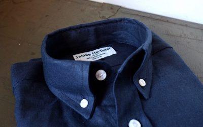 James Mortimer   Long Sleeve B.D Shirts