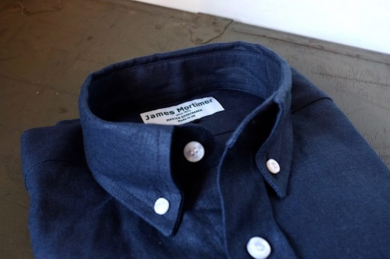 James Mortimer   Long Sleeve B.D Shirts