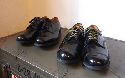 Sanders   Military Derby Shoe & Officer Shoe