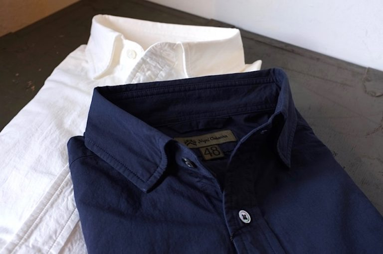 Nigel Cabourn   NEW BRITISH OFFICERS SHIRT -Twill-