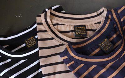 A VONTADE   Border T-Shirt S/S