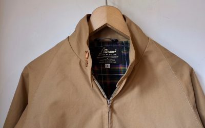 BEAVER of BOLTON   Grenfell Jacket & Unlined Raincoat Short