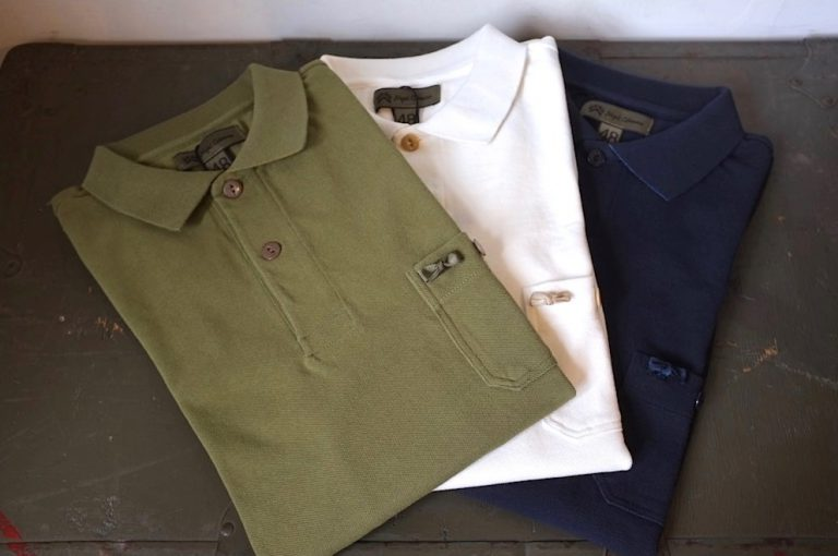 Nigel Cabourn   NEW RIBBON POLO