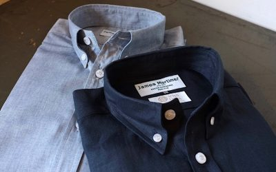 James Mortimer   Long Sleeve B.D. Shirts
