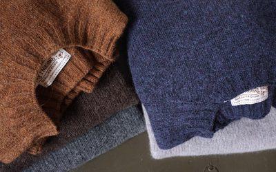 INVERALLAN   Crew Neck Shetland Sweater